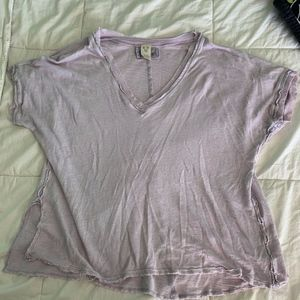 Light purple free people shirt